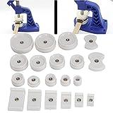 Herramientas profesionales de reparación de relojes, 20 piezas Herramienta profesional de reparación de relojes Accesorios para máquinas taponadoras Matriz de prensa de la caja trasera