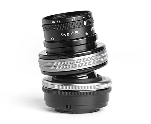LENSBABY 80 mm/F 2.8 Composer Pro II with Sweet 80 -