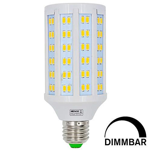 MENGS Dimmerabile Lampadine a LED E27 20W (Equivalente a 160W) Lampada a LED Blanco Caldo 3000K, 85-265V, 2340LM Luce a LED