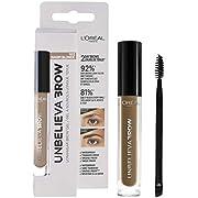 L'Oreal Paris UnbelievaBrow Long-Lasting Eyebrow Gel, Smudge-Proof, Transfer-Proof, Waterproof, 103 Warm Blonde