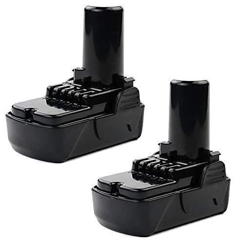 CELLONIC 2X Batería Premium 10.8V, 1.5Ah, Li-Ion Compatible con Hitachi WH 10DCL / DS 10DFL / DB 10DL / CR 10DL / CG 10DL bateria de Repuesto 329369, 329370, 329371 Pila reemplazo