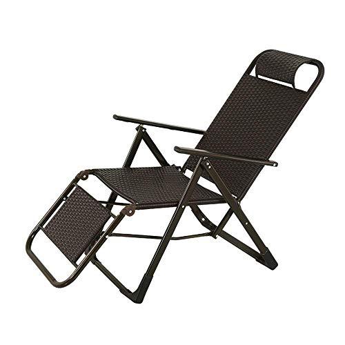 QQXX klapstoel, ligstoel, inklapbaar, voor de leeftijd, schommel, vrijetijdsstoel, zomer, opklapbare ligstoel, woonkamer, slaapkamer, balkon, lunchpauze, stoel, tuin, klapstoel, luier stoel