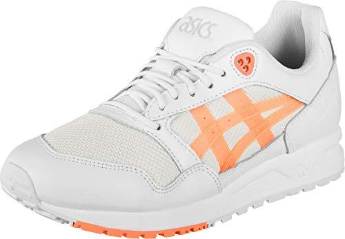 ASICS Tiger GELSAGA Sneaker Damen weiß/korall, 8.5 US - 40 EU
