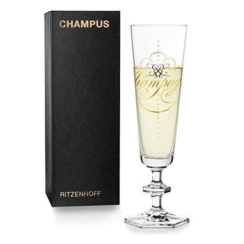 RITZENHOFF Next Champus Flûte à champagne en cristal 100 ml