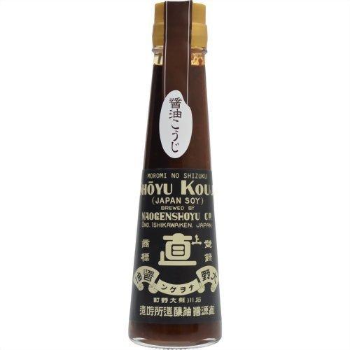 直源醤油 もろみの雫 醤油糀 瓶120ml [8720]