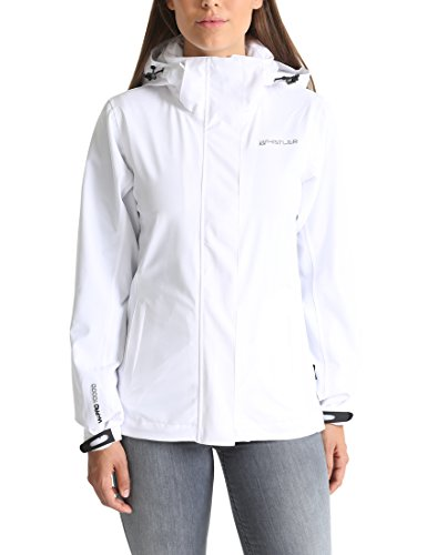 Ultrasport Whistler Damen Stretchjacke Wiley, Weiß, 38