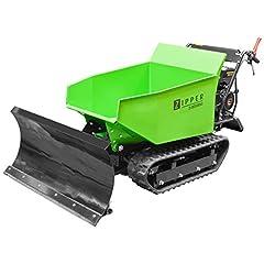 Zipper Mini Dumper ZI-MD500HS met kantelende hydrauliek, kruiperdumt, motorkruiercapaciteit tot 500 kg, nieuw – met sterkere motor*