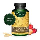 Coenzima Q10 + Vitaminas C + E + Zinc Vegavero | La...