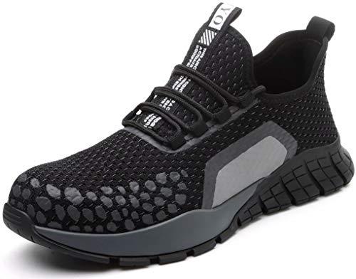 Calzado de Seguridad Hombre Trabajo con Proteccion Comodas s3 Indestructibles Mujer Zapatillas Punta de Acero