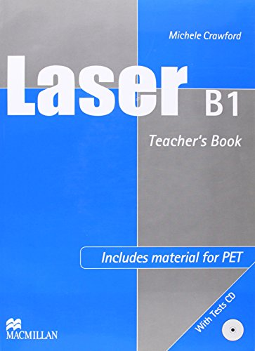Laser B1 Intermediate Teacher\'s Book & Test CD Pack International