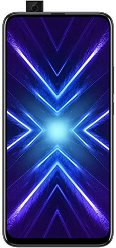 HONOR 9X Phantom Black - Smartphone B&le (6,59 Zoll Bildschirm, 128 + 4 GB) + 48MP AI Triple-Kamera + 16MP Pop-up Frontkamera + gratis HONOR Classic Earphones [Exklusiv bei Amazon] – Deutsche Version
