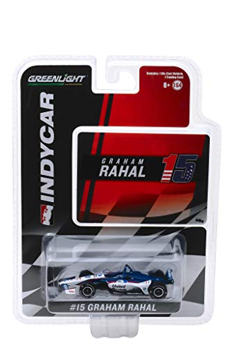Indy Car #15 Graham Rahal United Rentals Rahal Letterman Lanigan Racing 1/64 Diecast Model Car by Greenlight 10850