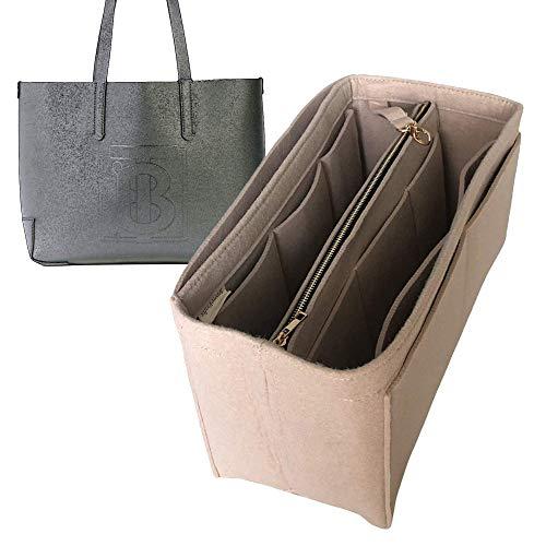 Organizador en relieve, bolsa de fieltro para insertar bolsa de forro, protector para organizar el bolso (estilo B), Bailarina rosa (Rosa) - JKS-B-163-Rose-Ballerine