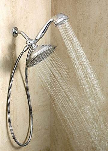 Moen 21005 Refresh 9-Inch Single Rainshower with 7-Function Handshower, Chrome