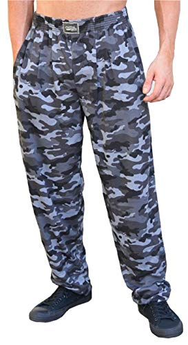 Classic Urban Camo Relaxed Fit Baggy Pants for Men and Women