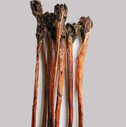 Ochsenziemer Luftgetrocknet ohne Farb & Konservierungsstoffe > 90 cm lang mit großem Fleischknopf. (2 Stück)