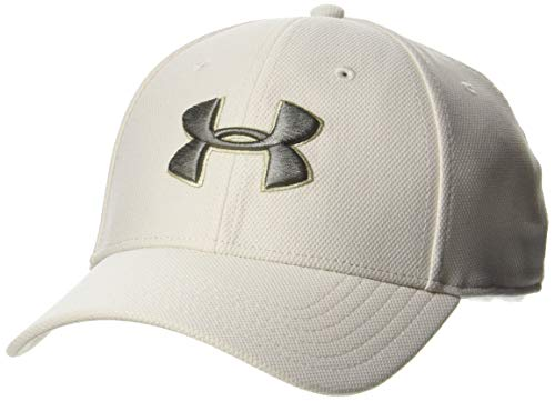 Under Armour Under Armour Herren Blitzing 3.0 Cap Kappe, Weiß (Summit White/Gravity Green 110), S/M