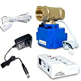 E-SDS Water Leak Detector with Shutoff Valve,Sensors and Sounds Alarm,Automatic...