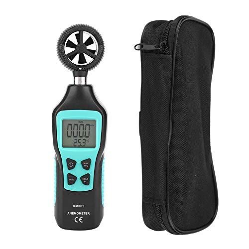 RM065 - Contatore di velocità del vento, strumento di misurazione del vento per anemometro digitale portatile