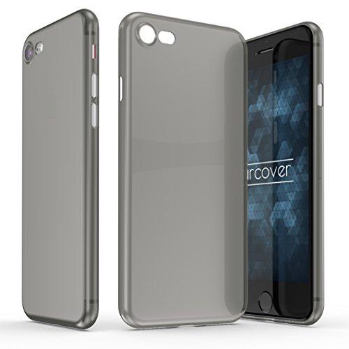 Urcover Ultra Thin Case Apple iPhone 7/8 Plus, Custodia Protettiva Ultrasottile, Back Cover Sillicone TPU Morbida AntiGraffio in Grigio
