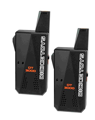 Dickie Toys 201118183 - Walkie Talkie Long Distance, Walkie Talkie mit 3 Kilometern Reichweite