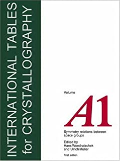 International Tables for Crystallography, Volume A1: Symmetry Relations Between Space Groups