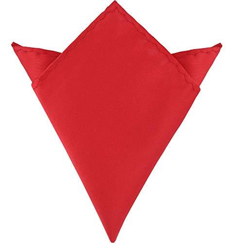 Ladeheid Fazzoletto Taschino Uomo P (22cm x 22cm, Rosso)