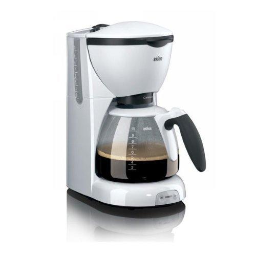 Braun KF 520/1 - Cafetera eléctrica, color blanco