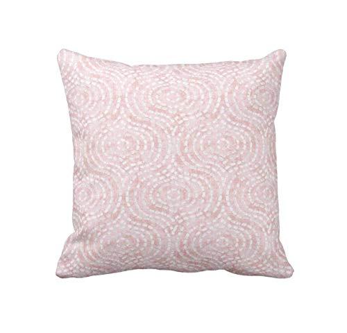Pillow Cover Decorative Pillows For Nursery Pillows Blush Pink Pillows Girls Bedroom Pink Throw Pillows For Bed Pillow Lujoso Fundas De Almohada 45x45 per Cámping Sofá Familia