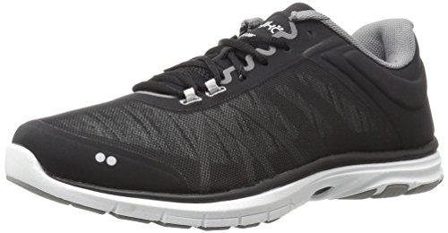 Ryka womens Dynamic 2.5 Cross Trainer Shoe, Black/White, 7.5 US