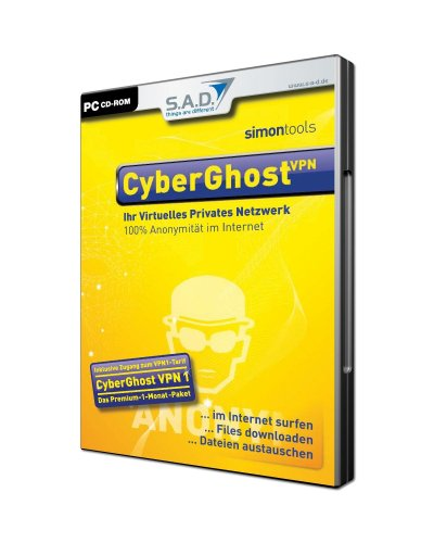 Preisvergleich Produktbild SimonTools CyberGhost VPN 1