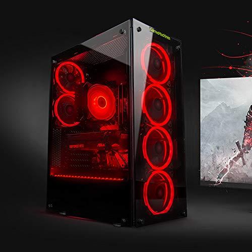 GameMachines Storm - RGB Gaming PC - Intel® Core™ i7 10700F - NVIDIA GeForce RTX 3060-500GB SSD - 2 TB Festplatte - 16GB DDR4 - WLAN - Windows 10 Pro