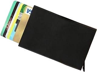 Otomatik Mekanizmalı Alüminyum Kredi Kartlık RFID Korumalı Cüzdan