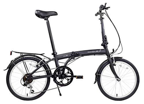 Dahon SUV D6 Folding Bike, Black (2020)