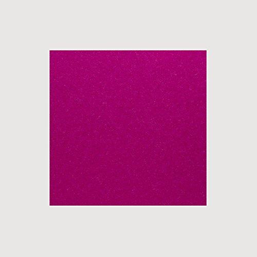 daff Filz Tischset Quadratisch aus Merino-Wolle 33x33 cm deep pink Melange