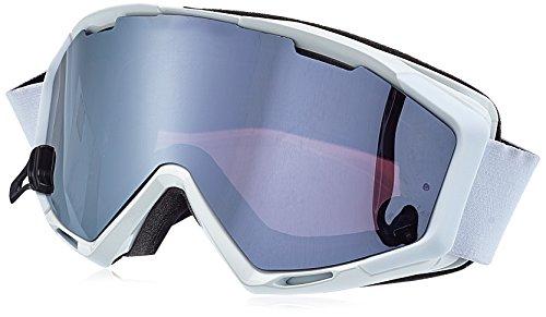 ALPINA Panoma S Skibrille, White, One Size