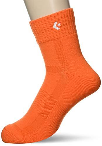 [コンバース] バスケ 靴下 試合/練習用 ソックス カラーアンクルソックス CB161003 オレンジ 1921