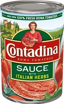 Contadina Tomato Sauce w Italian Herbs Pack 15 oz 6 of Nippon regular agency Translated -