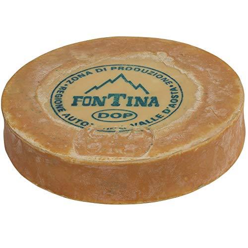 Fontina Valle d'Aosta DOP forma 8 kg ca (peso variabile) Spedizione a TEMPERATURA CONTROLLATA per garantire la qualità del prodotto