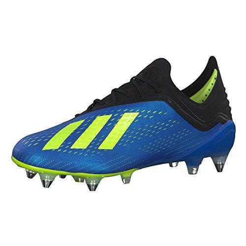 adidas X 18.1 SG, Zapatillas de Fútbol Hombre, Azul (Fooblu/Syello/Cblack Fooblu/Syello/Cblack), 48 EU
