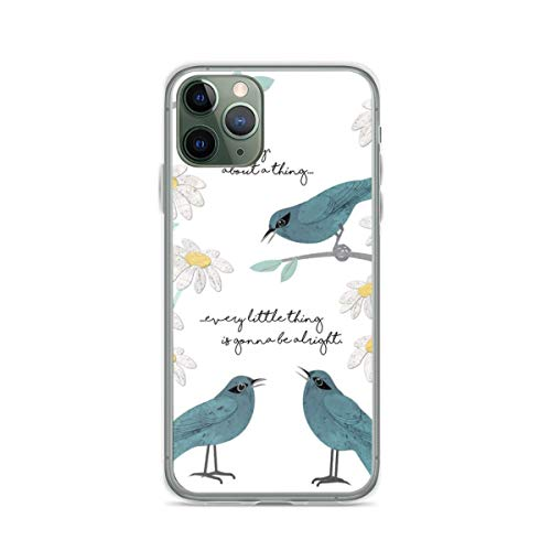 Three Little Birds Dont Worry About A Thing Phone Case Compatible with iPhone 12 11 X Xs Xr 8 7 6 6s Plus Mini Pro Max Samsung Galaxy Note S9 S10 S20 Ultra Plus