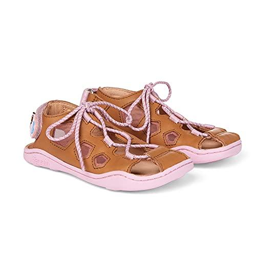Affenzahn Sandale Leder - Kindersandale mit Kappe für Jungen und Mädchen