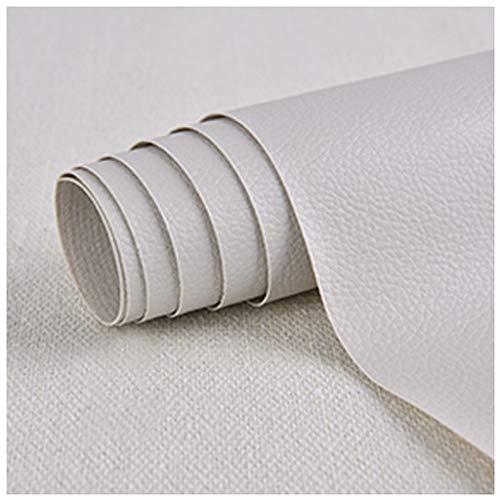Möbelstoff Premium Bezugsstoff Zum Selbstklebender Leder reparatur Patch , Flicken Selbstklebend Patch, Erste Hilfe für Sofas Autositze, Handtaschen Jacken, Fix Löcher, Risse, Verbrennungen, Flecken,