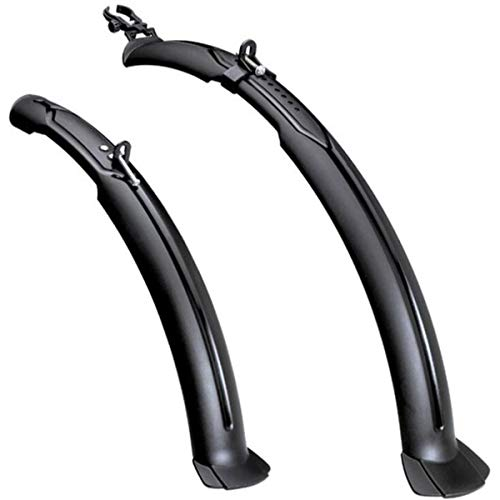 HOUTBY 1 Set Mudguard Bicycle Fenders Front Rear for Road Mountain Bike Lengthen