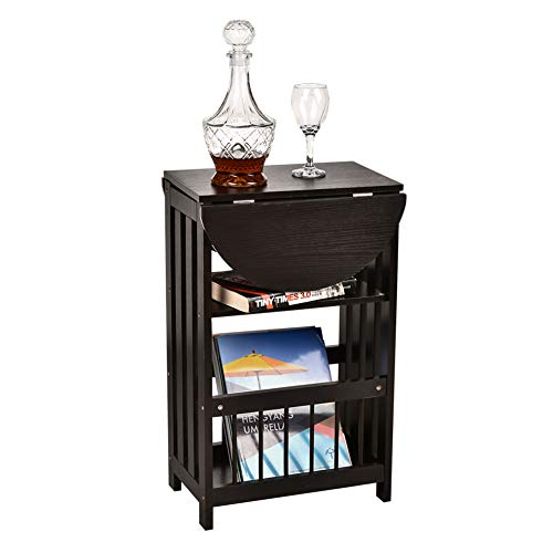 end table with magazine rack - 1