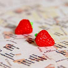 ShopMeeko Seeds:500 pcs/Bag Mini Strawberry Potted Rare Small Child Fragaria ananassa L. Bonsai Pot Fruit for Home Garden Plant : 2