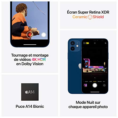 Apple iPhone 12 (128Go) - Bleu