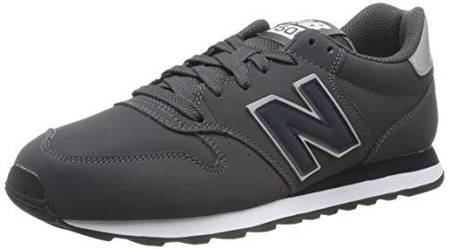 New Balance 500, Zapatillas Hombre, Gris Grey/Navy