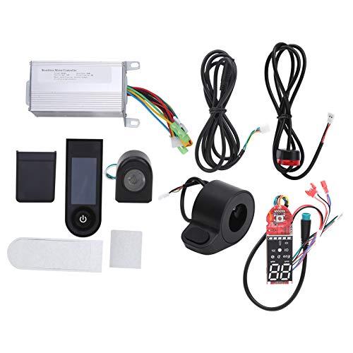 Kit de controlador de motor sin escobillas, 36V 350W Kit de controlador de motor sin escobillas para scooter con pantalla digital, Kit de controlador de bicicleta eléctrica sin escobillas para