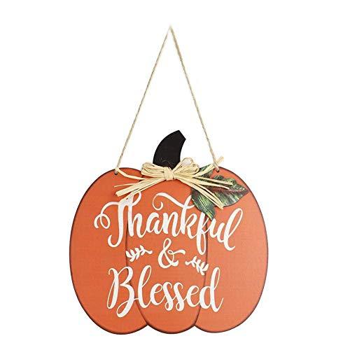 Colgante de calabaza de Acción de Gracias de la Isla de la Nieve, decoración de manualidades lindo mini adornos regalos para niñas
